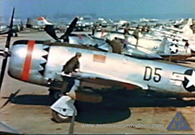 365th Fighter Group P-47s