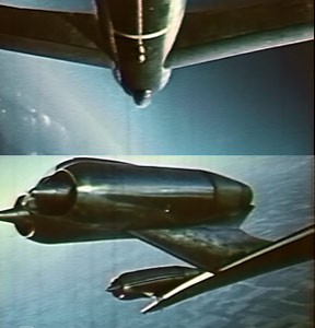See a B-47 doing spectacular aeobatics