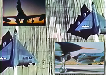 "Screen shots from ""B-58 Mito Tests"""