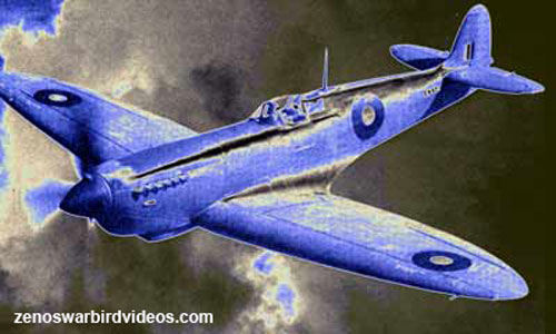 Picture of Supermarine Spitfire MK11, the photo recon version of the Spitfire IX